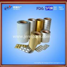 Alu-Alu-Kaltformblister-Folienmaterial für Medizinverpackungen