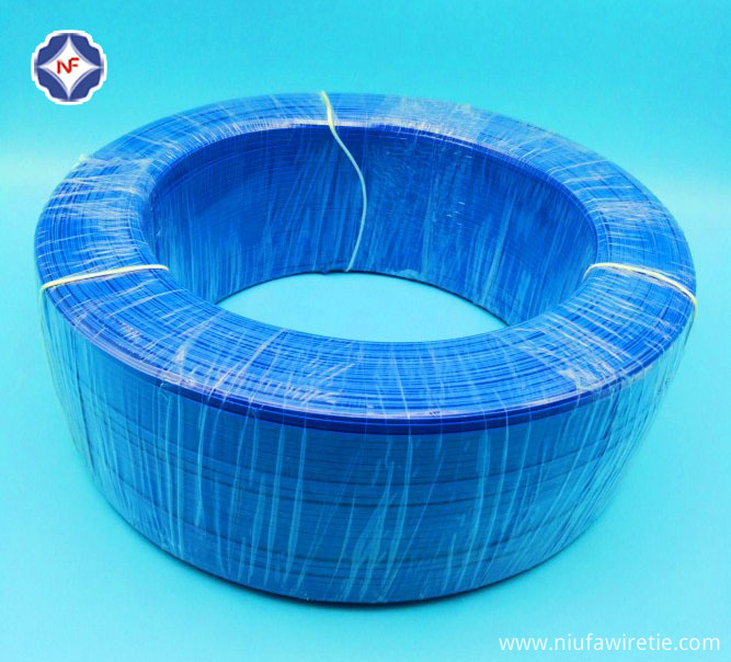 Enlarge of plastict twist tie/nose wire production