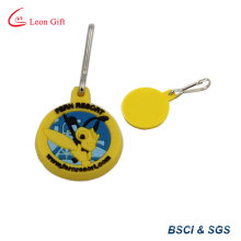 Promotional Colorful Embossed Soft PVC Keychain (LM1805)
