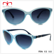 Plastic Cat′s Eye Ladies Sunglasses with Rhinestone in Temple (WSP508298)