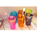 Scale prevention Wash gargle cup Dazzle color transparent Two in one tooth burshing cup Water cup
