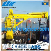 Electric Hydraulic Offshore Pedestal Telescopic Boom Crane