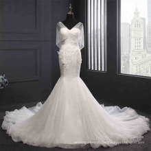 2017 New Sequin Mermaid Wedding Dress