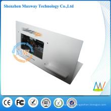 carrinho de exposição acrílico desktop com tela de lcd de 7 polegadas