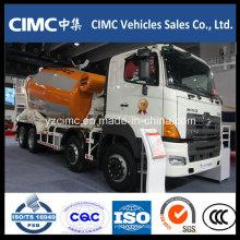 Camión mezclador Hino 700 8X4 con 12 metros cúbicos