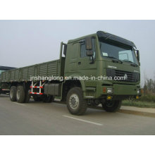 Carro de carga de HOWO 6X6 de Sinotruk