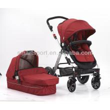 Cochecito de bebé con ruedas de EVA y marco de aluminio