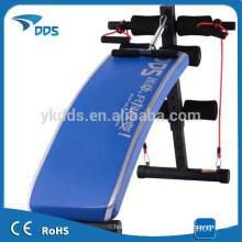 Banco de abdominales Fitness al aire libre/4 formas de hacer inclinado Sit Ups al aire libre banco plegable