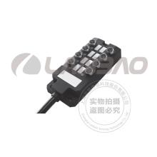 Distribution Box M8 Connector 8 I/O Channels 3 I/O Ports NPN