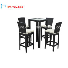 Patio Garden Aluminum Bar Table and Chair for Rattan (CF785T)