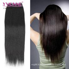 Extension naturelle de cheveux de trame de peau d'unité centrale de couleur