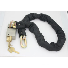 Steel Padlock with Chain (CP)