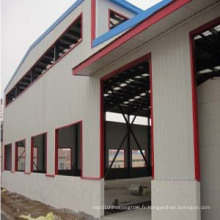 Prefab Steel Frame Warehouse (SS-222)