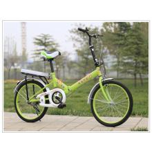 """14 """"16"""" 20 """"única velocidade de freio a disco de liga dobrável dobrável bicicleta dobrável"""