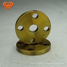 Bride de tuyau en fonte malléable galvanisée de 1-1 / 4 po npt