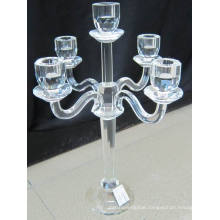 Crystal Candle Holder with Five Posters (KLS14308-22D)