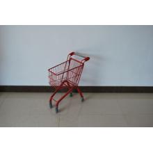 Kinder einkaufen Tolley Warenkorb