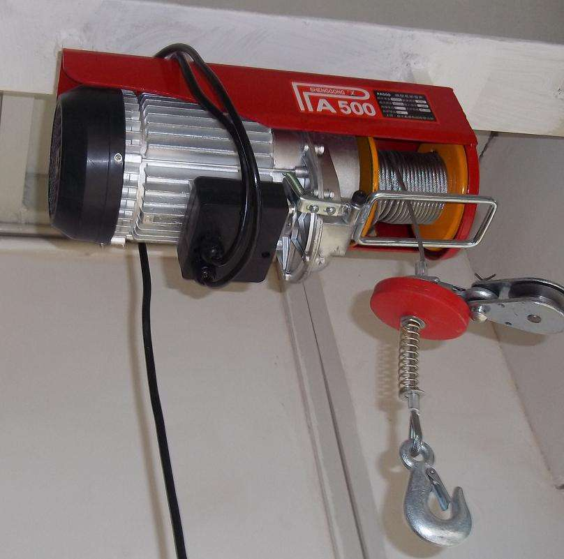 mini electric hoist 400kg