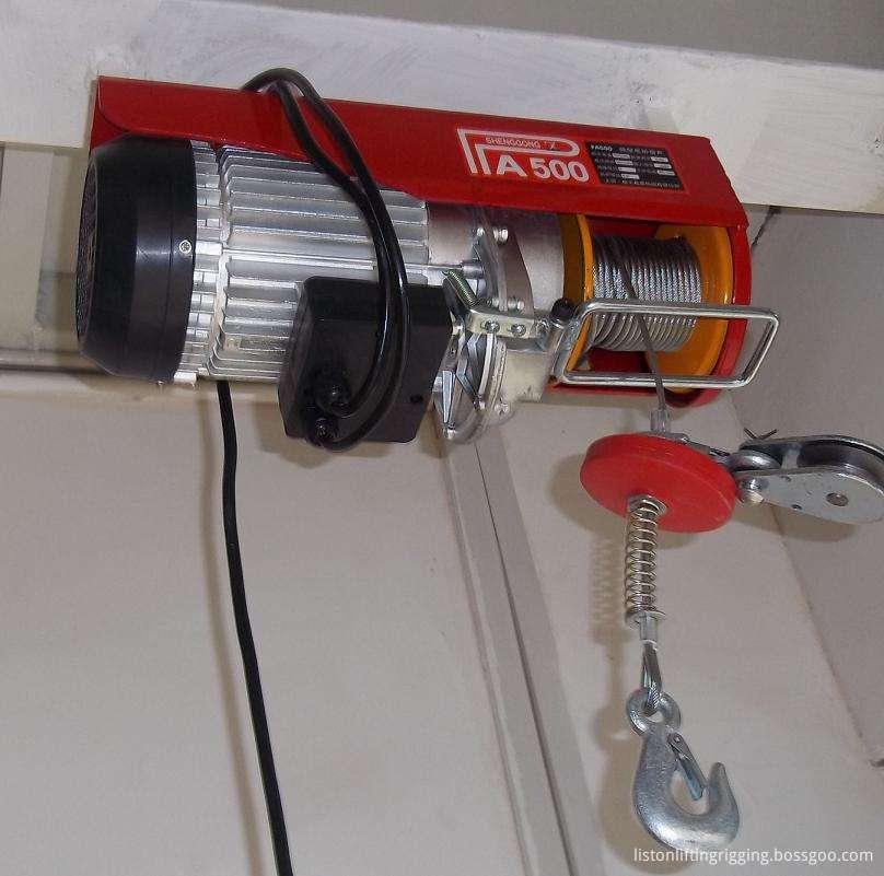 1200kg mini electric hoist