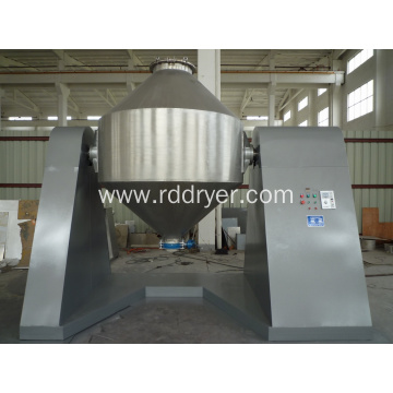 Chemical Powder Double Cone Rotary Vacuum Drying Machine