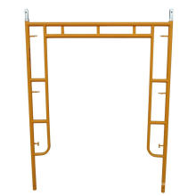 Powder coated 5' by 6'6'' H frame scaffolding with flip lock