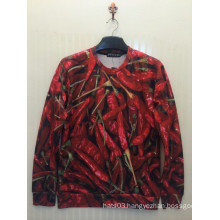 Red Pepper Allover Sweatshirt