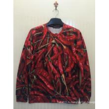 Красный перец Сверкающий свитер