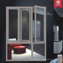 China Factory Les fenêtres en aluminium de la plus haute qualité, Swing Window Series