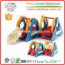 Yiwu Factory Direct Sale Mini Size Swing Sporting Model Wooden Baby Toy
