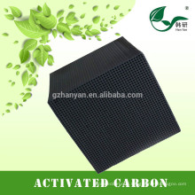No water resistence Honeycomb cube activated carbon wholesale price