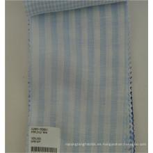 100% ropa de tela de camisa de lino para el verano