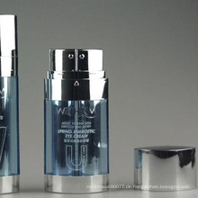 Oval 2 Teile Airless Lotion Flasche