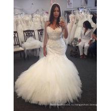 Fit и блики течет милая свадебное платье
