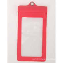 500d Mesh PVC Waterproof Mobile Cell Phone Bag (YKY7254)
