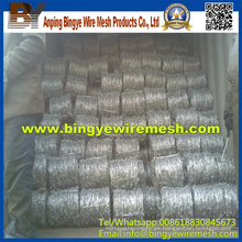 Las ventas calientes galvanizaron el alambre de púas (calidad de la exportación)