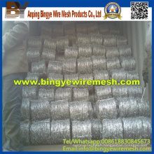 Hot Sales Galvanized Barbed Wire (Export Quality)