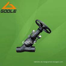 900 ~ 2500lb Pressure Seal Kompaktstahl Y Muster Globe Valve (GAJ65H)