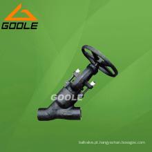 Válvula de globo do teste do aço compacto Y do selo da pressão 900 ~ 2500lb (GAJ65H)