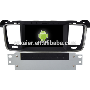 Android 4.3 voiture Glonass / GPS stéréo pour Peugeot 508 avec GPS / Bluetooth / TV / 3G / WIFI