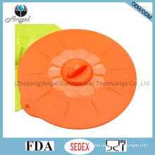 Silicone Food Cooking Cover Microwave Pot Lid Cover SL07 (L)