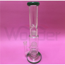 Windmill Wheel Shape Glass Smoking Water Pipe