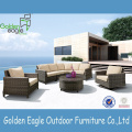 Combination Curved Modern Sofa Rattan Sofa set