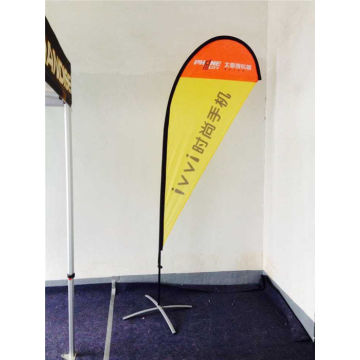10 FT Outdoor Advertising Teardrop Flag Spanduk