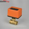 Gutentop Electric Motor Power Control Brass Ball Valve