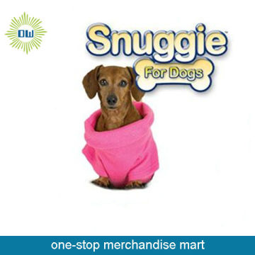 Pink cute Snuggie for dogs