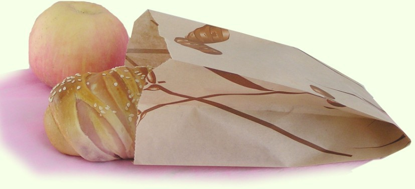 Baguette Kraft Paper Bag without window