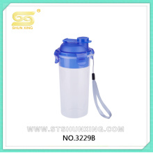 china factory 450ML water bottle plastic cup with lid for selling