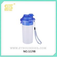 china fábrica 450ML garrafa de água copo de plástico com tampa para venda