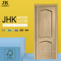 JHK-009-1 Black Oak Wood Door Design