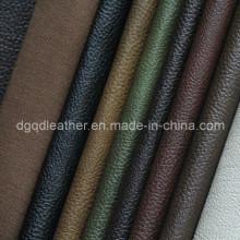 Высокое качество дышащий PU мебели кожаный (qdl по-FB0008)